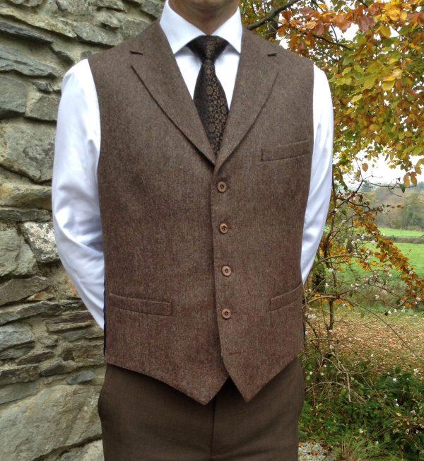 Custom Tailored Lapel Waistcoat
