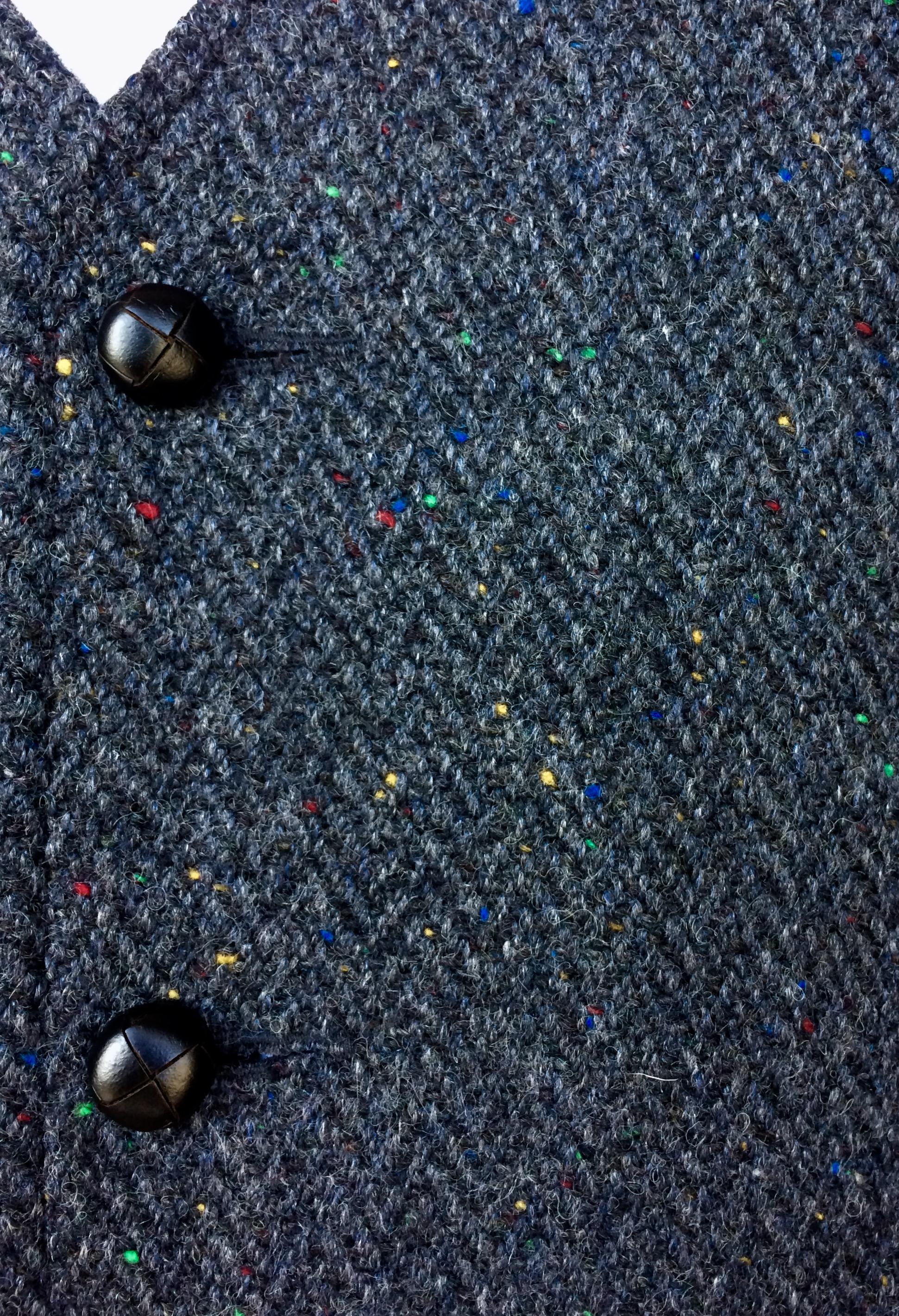 Glengesh Waistcoat Slate Grey