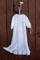 Heritage Irish Crochet Gown