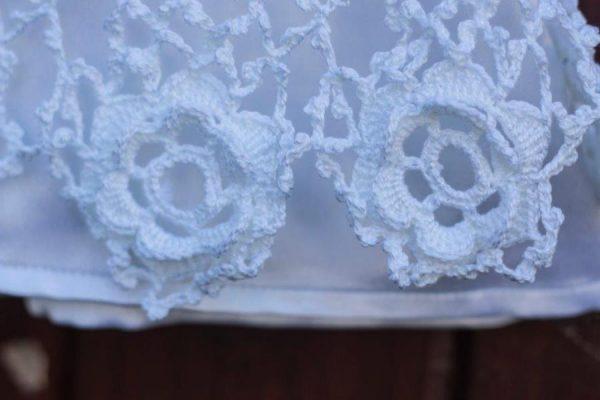 3c0388164 Irish Hand Crochet Heritage Christening Gown