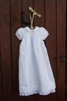 Pearls and Rosebuds Christening Gown
