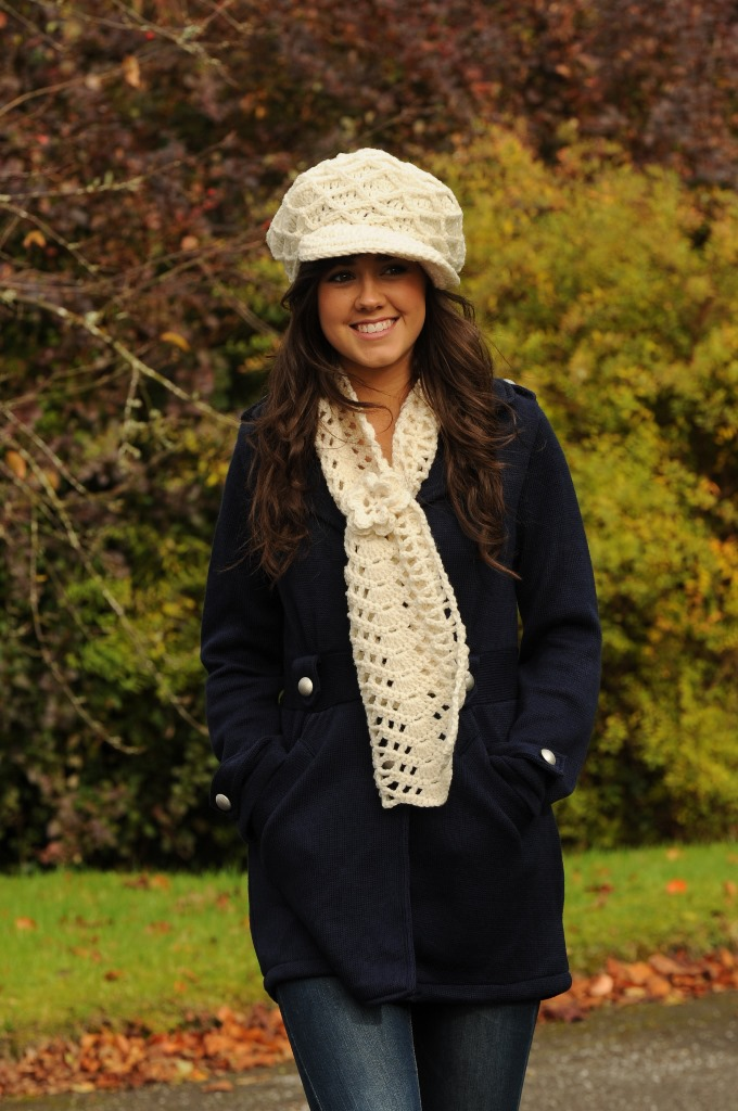 Molly Cap and Scarf Set