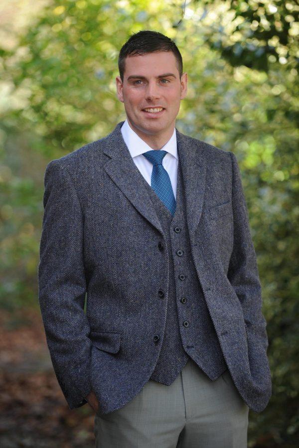 Custom Tailored Irish Tweed Waistcoat
