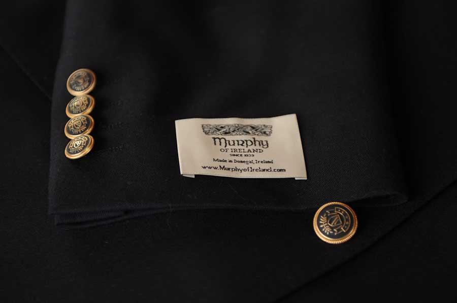 Donegal Definitive Blazer Detail