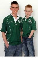 Children's Irish Rugby Shirt Collarless