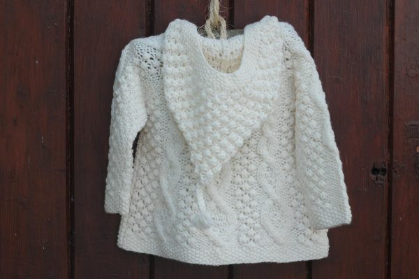 The Wee Aran Hoody Children's Aran Sweater