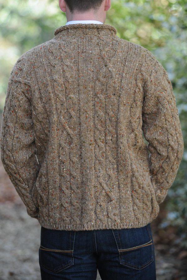 Finn Aran Sweater Oatmeal