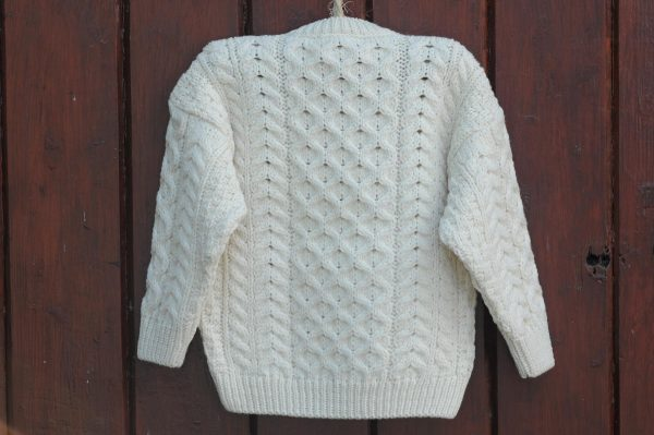 The Wee Classic Children's Aran Sweater