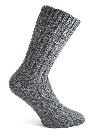 Donegal Tweed Sock - Grey