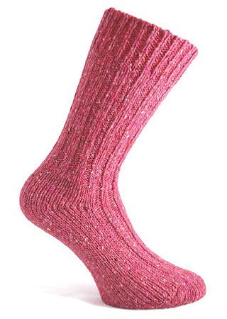 Donegal Tweed Sock - Pink