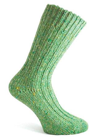 Donegal Tweed Sock - Sea Green