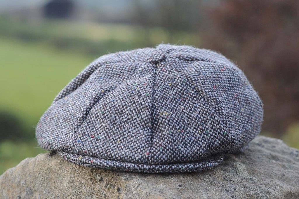 Ladies Dublin Newsboy Cap Charcoal