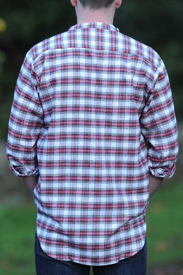Gleneske Irish Grandfather Shirt Dress Stewart