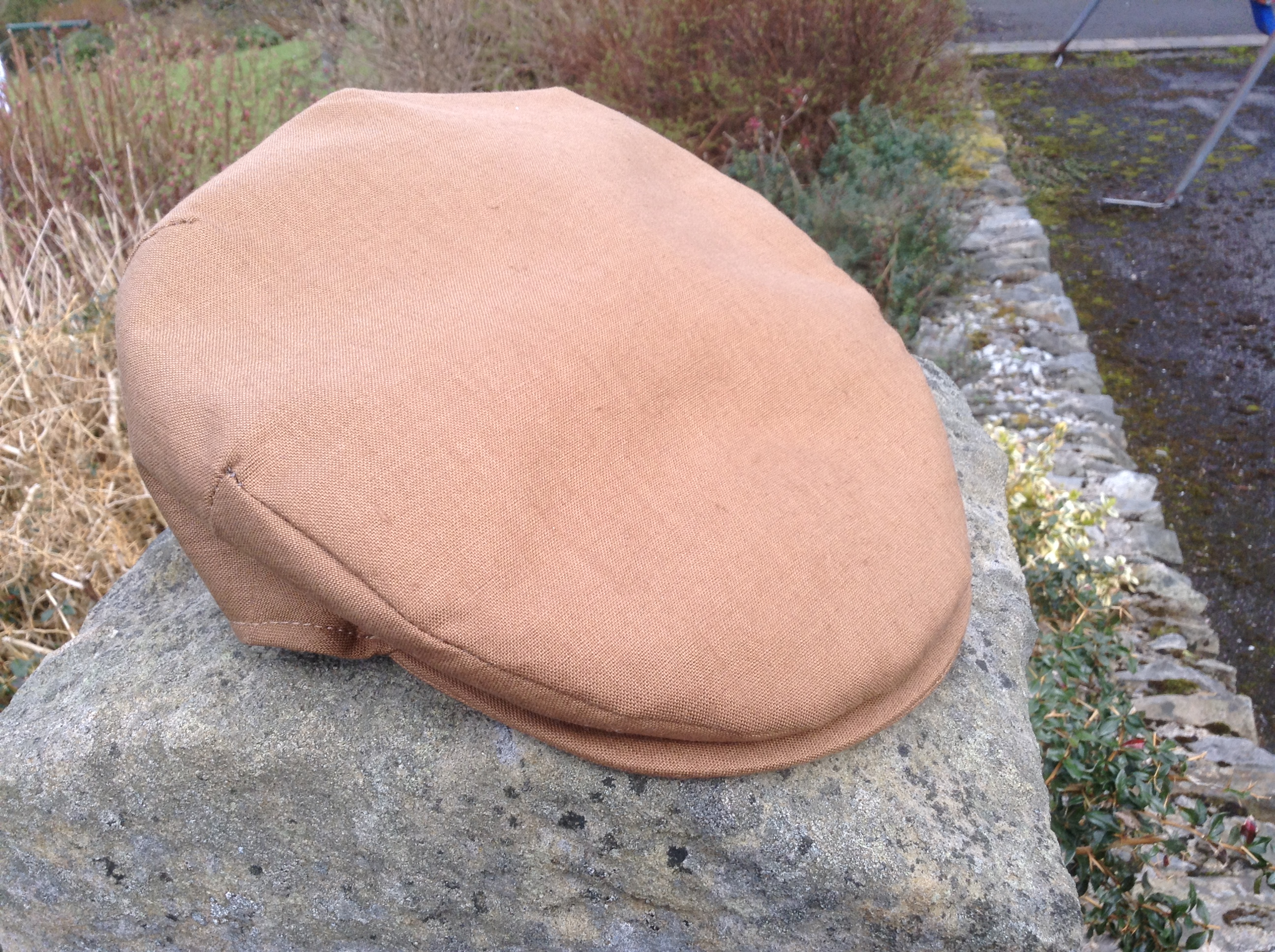 Irish Linen Cap Tan