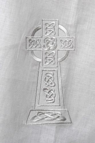 Kinsale Christening Cloak Celtic Cross