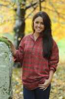 Gleneske Ladies Grandfather Shirt Royal Stewart