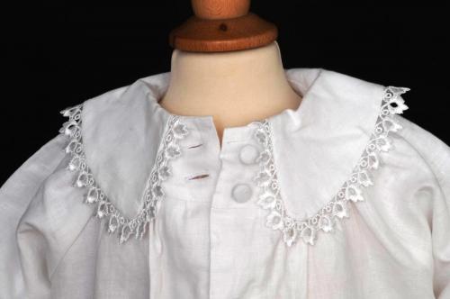 Linen Christening Coat