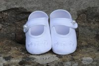 'Little Lady' Christening Shoes Shamrock
