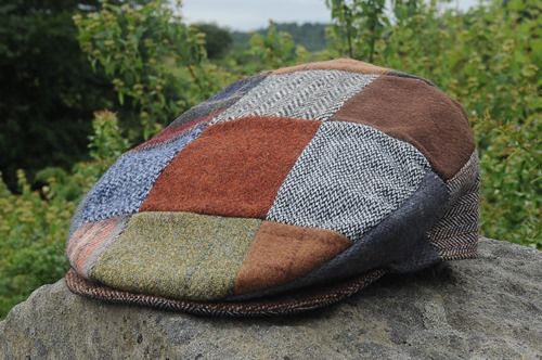 Patchwork Tweed Cap