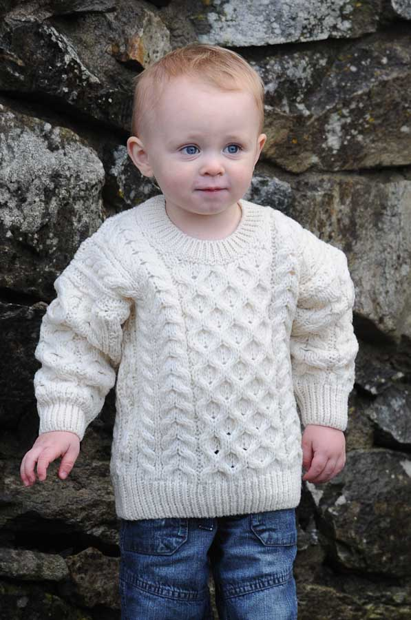 Children's Aran Sweaters