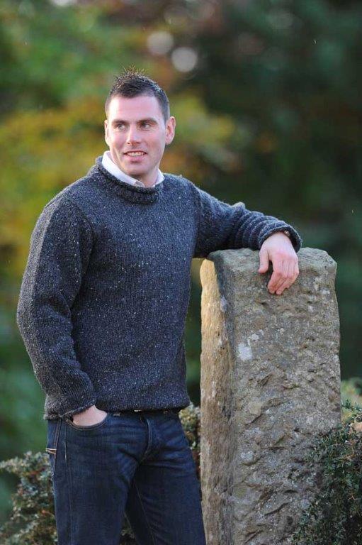 Carrick Sweater Charcoal