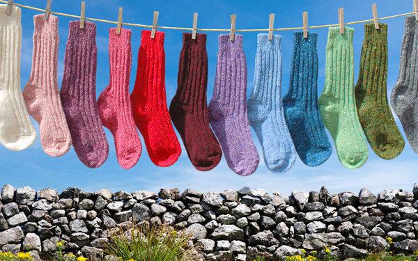 Irish Tweed Socks