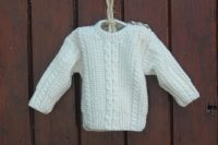 Little Legacy Aran Sweater