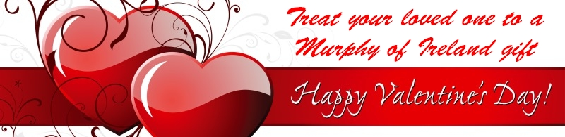 Valentines Day gifts from Murphy of Ireland