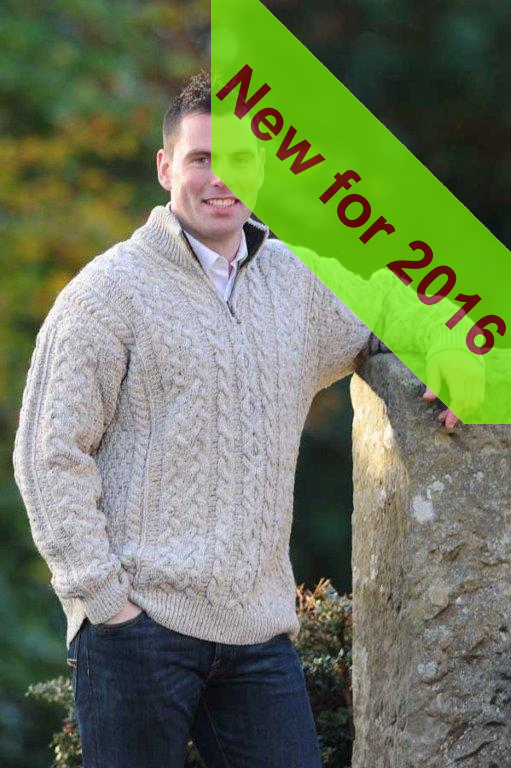 Killybegs Mens Aran Sweater