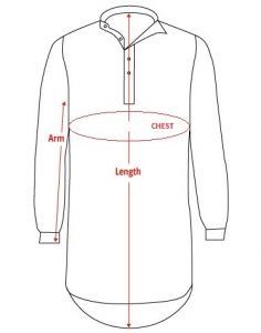 Nightshirt-Outline