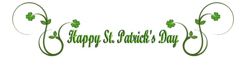 Happy St Patricks Day from Murphy of Ireland