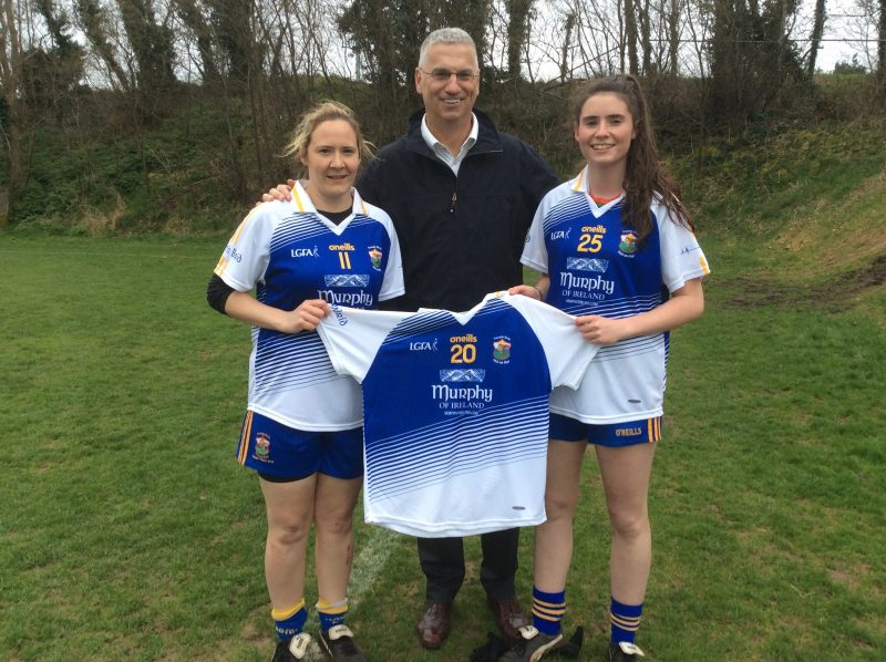 Murphy of Ireland Sponsor St Bridget's Belfast Ladies Gaelic Football