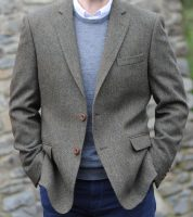 Burren Herringbone Irish Tweed Jacket