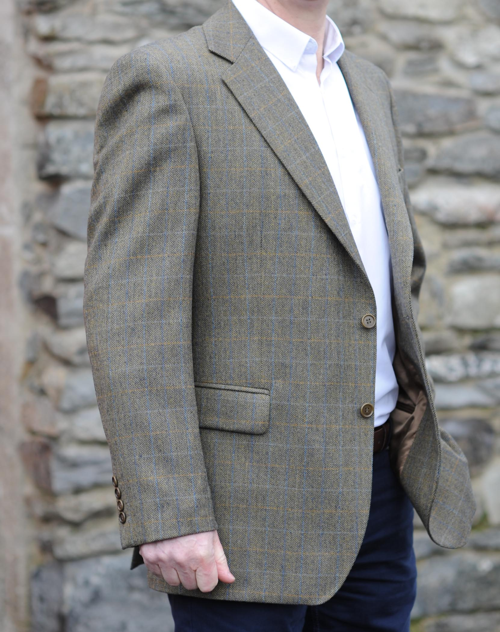 Donegal Country Check Jacket