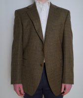 Donegal Tweed Jacket Country Check