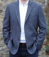 Dundrum Traditional Weave Donegal Tweed Jacket