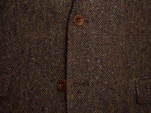 Ballyclare Herringbone Irish Tweed