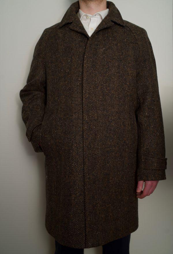 Dublin Tweed Overcoat Bracken