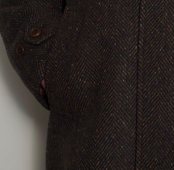 Dublin Tweed Overcoat Bracken DSC