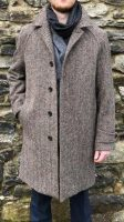 Dublin Tweed Overcoat Oatmeal